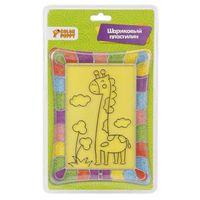 """Картина из пластилина """"Жирафик"""""""