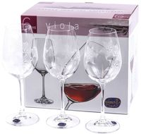 "Бокал для вина стеклянный ""Viola"" (6 шт.; 350 мл; арт. 40729/K0562/350)"
