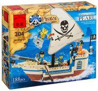 """Конструктор """"Pirates. Пиратский корабль"""" (188 деталей)"""