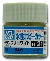 Краска Aqueous Hobby Color водоразбавляемая (off white, H-21)