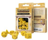 """Набор кубиков """"Pathfinder. Skull and Shackles"""" (7 шт.; желто-коричневый)"""