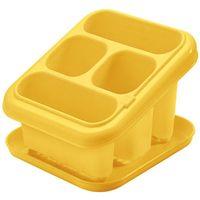 """Подставка-корзина для столовых приборов пластмассовая с поддоном """"Tontarelli"""""""