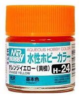 Краска Aqueous Hobby Color водоразбавляемая (orange yellow, H-24)