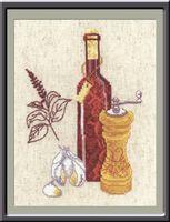 """Вышивка крестом """"Кухонная миниатюра"""""""