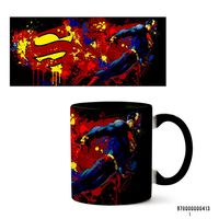 "Кружка ""Супермен"" (413, черная)"