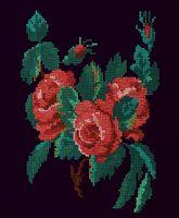 "Вышивка крестом ""Розы"" (190x270 мм)"