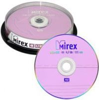 Диск DVD+RW 4.7Gb 4x Mirex CakeBox 25
