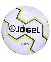 """Мяч футбольный Jogel """"Intro"""" №5 (белый)"""