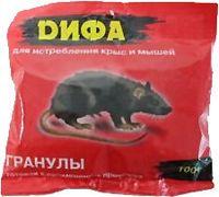 """Приманка для крыс и мышей """"ДИФА"""" в гранулах (100 г)"""