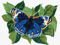 "Вышивка крестом ""Бабочка"" (180x220 мм)"
