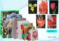 """Пакет бумажный подарочный """"Цветы"""" (в ассортименте; 32x44x11 см; арт. МС-1405)"""