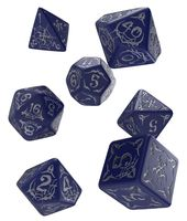 "Набор кубиков ""Pathfinder. Second Darkness"" (7 шт.; сине-серебристый)"