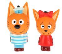 """Набор игрушек для купания """"Три кота"""" (2 шт.)"""