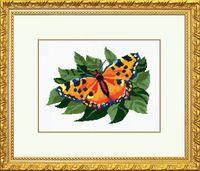 """Вышивка крестом """"Бабочка"""" (арт. С043)"""