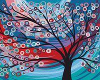 """Картина по номерам """"Сказочное дерево"""" (400х500 мм)"""