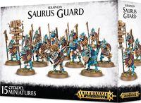 Warhammer Age of Sigmar. Seraphon. Saurus Guard (88-12)