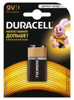 Батарейка DURACELL 9V 6LR61 алкалайновая