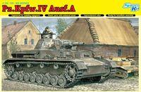 """Средний танк """"Pz.Kpfw.IV Ausf.A"""" (масштаб: 1/35)"""