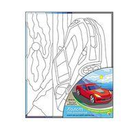 """Набор для рисования """"Красный автомобиль"""""""