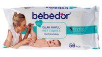 """Влажные салфетки детские """"Bebe Dor"""" (56 шт.)"""