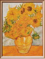 """Вышивка бисером """"Ван Гог. Подсолнухи"""" (340х420 мм)"""