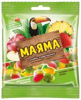 """Мармелад """"Маяма"""" (70 г; ананас, яблоко и клубника)"""