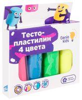 "Тесто для лепки ""Тесто-пластилин"" (4 цвета)"