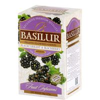 """Напиток чайный """"Basilur. Черная смородина и ежевика"""" (20 пакетиков)"""