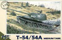 Средний танк Т-54/54А (масштаб: 1/72)