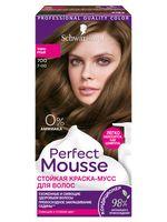 "Краска-мусс для волос ""Perfect Mousse"" тон: 700, темно-русый"