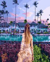 """Картина по номерам """"Следуй за мной. Гавайи"""" (400х500 мм)"""