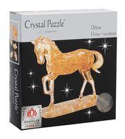 """Пазл """"3D. Золотая лошадь"""" (100 элементов)"""