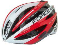 """Шлем велосипедный """"Road Pro"""" (бело-красный; р. S-M)"""