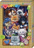 """Картина-аппликация """"Я люблю котят"""""""