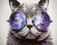 """Картина по номерам """"Отражение неба"""" (400х500 мм)"""