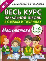 Весь курс начальной школы в схемах и таблицах. Математика. 1-4 класс