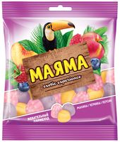 """Мармелад """"Маяма"""" (70 г; малина, черника и персик)"""