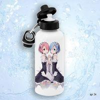 """Бутылка для воды """"Аниме. Жизнь с нуля"""" (600 мл)"""