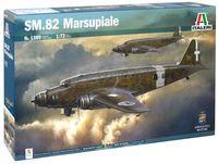 """Сборная модель """"Самолет SM.82 Marsupiale"""" (масштаб: 1/72)"""