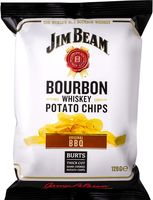 "Чипсы картофельные ""Jim Beam. Bourbon Whiskey"" (120 г)"