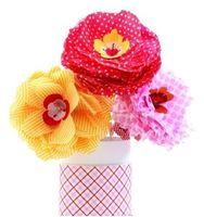 """Цветы из бумаги """"Цветы Бетти"""""""