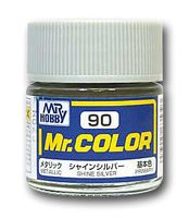 Краска Mr. Color (shine silver, C90)