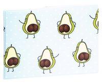 """Обложка на студенческий билет """"Avocado and Popka"""""""