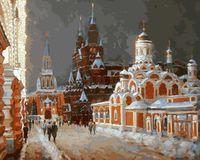 """Картина по номерам """"Перед Рождеством"""" (400х500 мм)"""