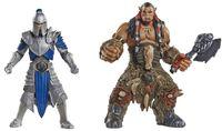 """Набор фигурок """"Warcraft. Дуротан и Солдат Альянса"""" (7 см)"""