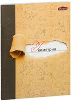 """Тетрадь в клетку """"Геометрия"""" 48 листов (арт. Т-4888)"""