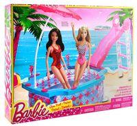 "Набор мебели для кукол ""Барби. Гламурный бассейн"""