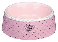 """Миска для кошек керамическая """"Cat Princess"""" (0,18 л)"""