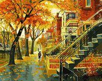 "Картина по номерам ""Андрис Лейманис. Мой дом"" (400х500 мм)"