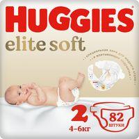 """Подгузники """"Elite Soft 2"""" (4-6 кг; 82 шт.)"""